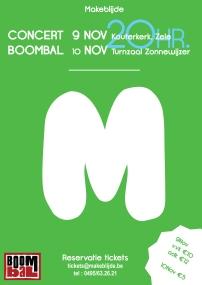 1ste editie van M-concert - Dubbelconcert met Jong en Dameskoor Makeblijde
