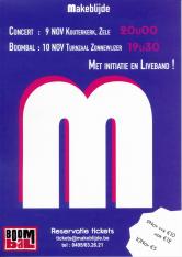 2de editie van M-concert - Dubbelconcert met Jong en Dameskoor Makeblijde