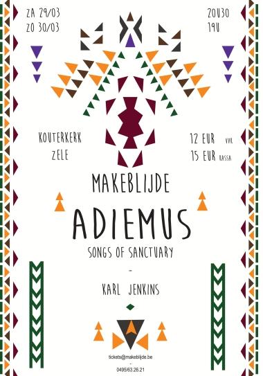 Uitvoering van Adiemus - Songs of Sanctuary