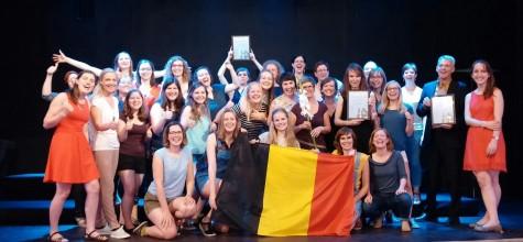 Internationale wedstrijd Litouwen - Prijs best uitgevoerde opgelegd werk, eerste prijs en Grand Prix