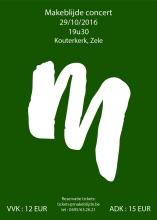 4de editie van M-concert - Dubbelconcert met Jong en Dameskoor Makeblijde