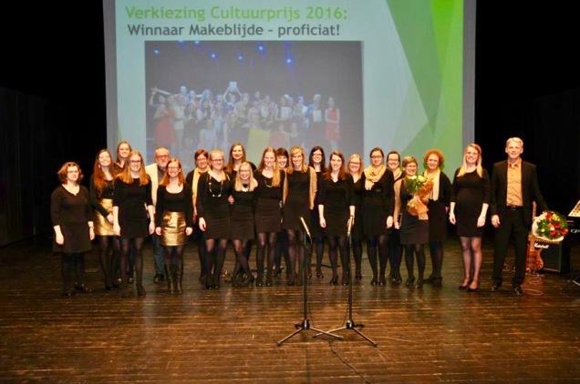 Makeblijde wint de Cultuurprijs 2016 Zele