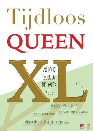 De coverband 'Magnifico' en dameskoor 'Makeblijde' brengen hulde aan de legendarische rockgroep Queen.