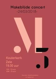 5de editie van het M concert - Dubbelconcert met Jong en Dameskoor Makeblijde
