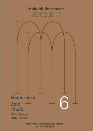 6de editie van het M concert - dubbelconcert met Jong en Dameskoor Makeblijde